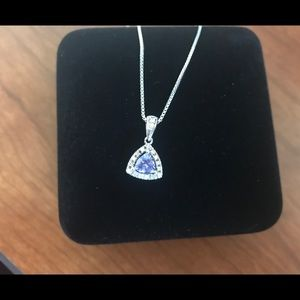 Jewelry - Sterling Silver Tanzanite Necklace